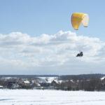 Зимние полеты - очень красивые!